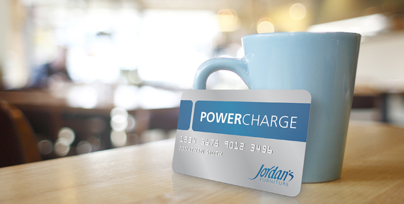 Applying for a Jordan's Furniture PowerCharge card is easy. Here's how.
