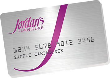 Jordan's Furniture credit card available at stores in CT, MA, NH and RI