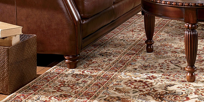 Jordan\'s Furniture - Area Rug Care