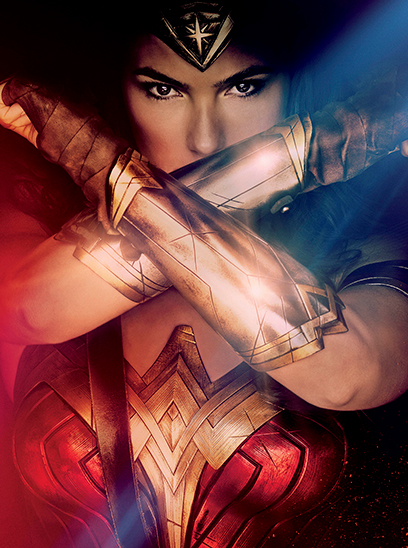 Wonder Woman in the Sunbrella IMAX 3D movie theaters at Jordan's Furniture in Natick and Reading Ma