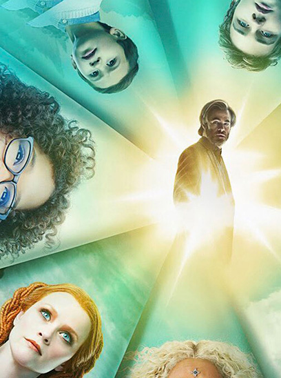 A Wrinkle in Time in the Sunbrella IMAX 3D movie theaters at Jordan's Furniture in Natick and Reading Ma