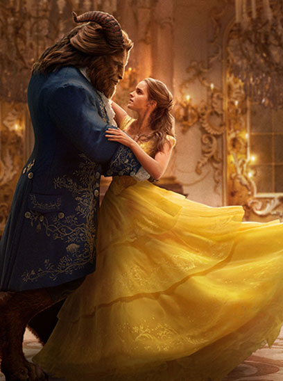 Beauty and the Beast - IMAX 3D movie theaters at Jordan's Furniture in Natick and Reading Ma
