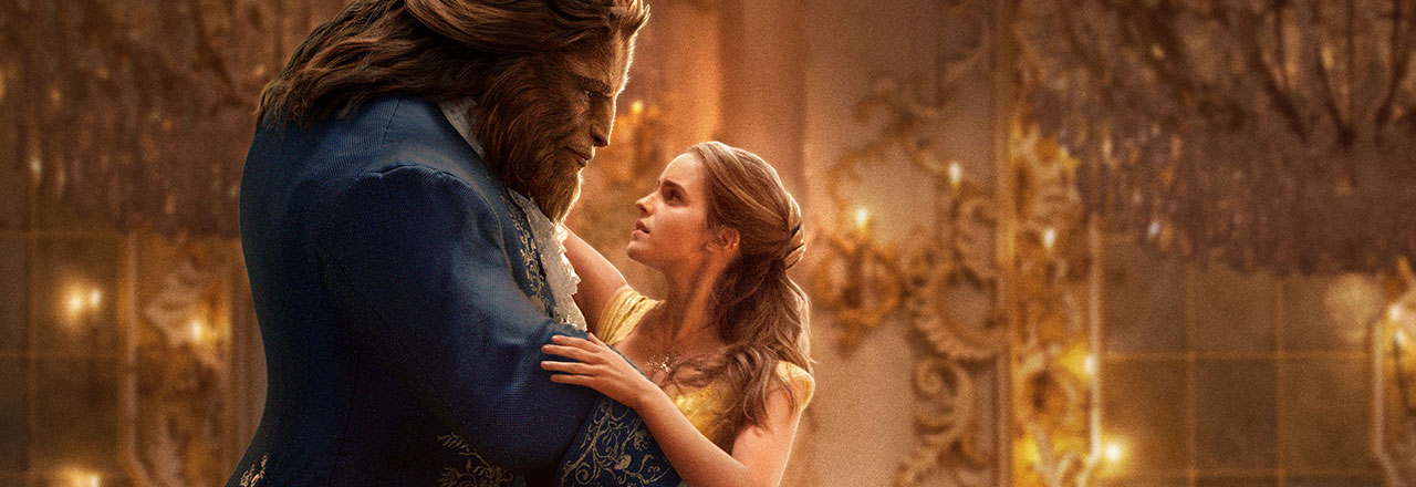 Beauty and the Beast in the IMAX movie theaters at Jordan's Furniture in Natick and Reading Ma