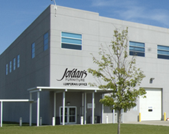 Jordan's Furniture East Taunton Corporate Headquarters and Customer Pick-up